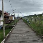 Banyak kejutan menuju Kabupaten Asmat, Papua